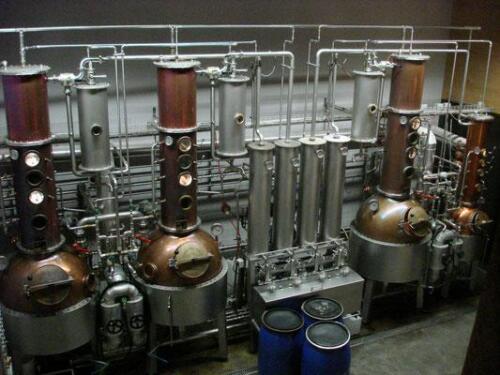 Besuch der Destillation von Firma Humbel in Stetten